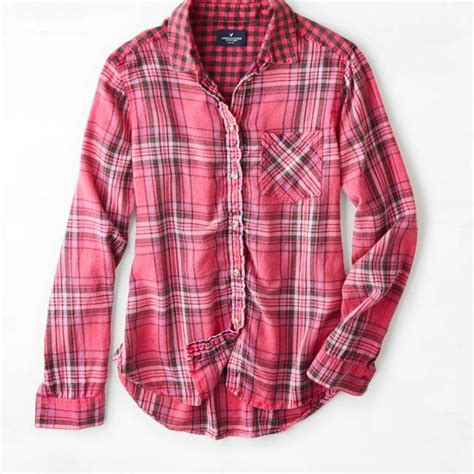 Plaid Shirt By American Eagle american eagle dress shirts leather sandals