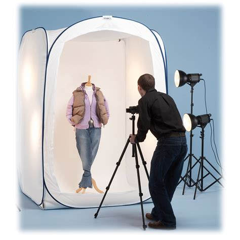 Light Tent Photography by Lastolite Mini Studio Cube Lite 5 X 5 X 7 Ll Lr5287 B H
