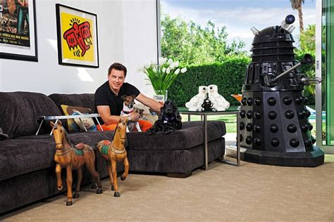 what did the doctor see in his room doctor who memorabilia is prized by many