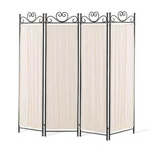 Foldable Room Divider by 4 Panel Folding Screen In Black Gold Room Dividers And