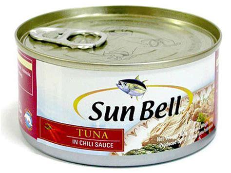 Sun Bell Tuna Rica Rica ikan tuna kaleng sun bell