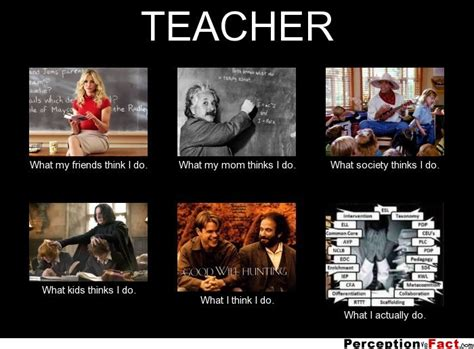 What My Friends Think I Do Meme - teacher what people think i do what i really do