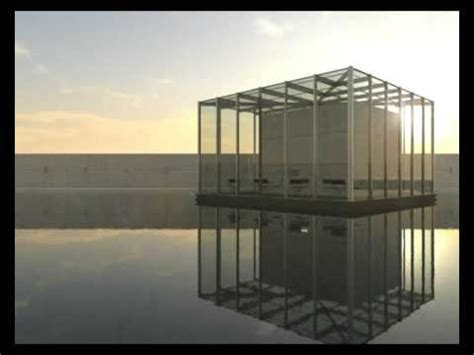 glass box architecture tadao ando glass box timelapse youtube