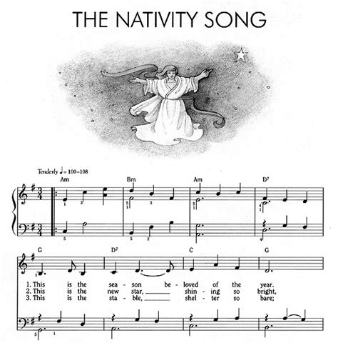 nativity figures words to print new calendar template site
