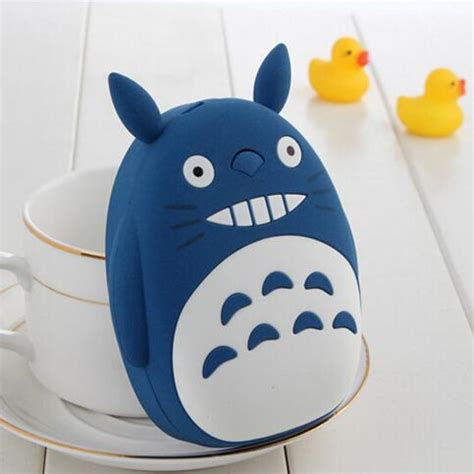 Totoro 12000mah Usb Mobile Charger Power Bank totoro 12000mah usb mobile charger power bank for gift