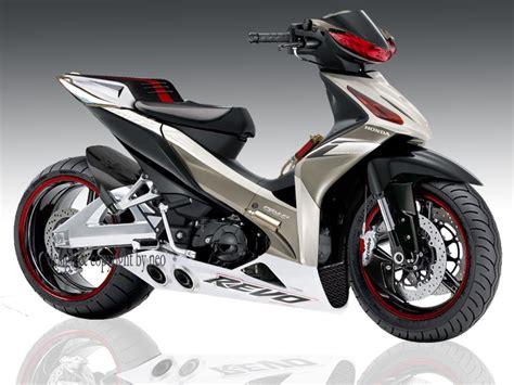 Cakram Honda Blade Revo Absolute modifikasi honda absolute revo 110cc racing look oto trendz