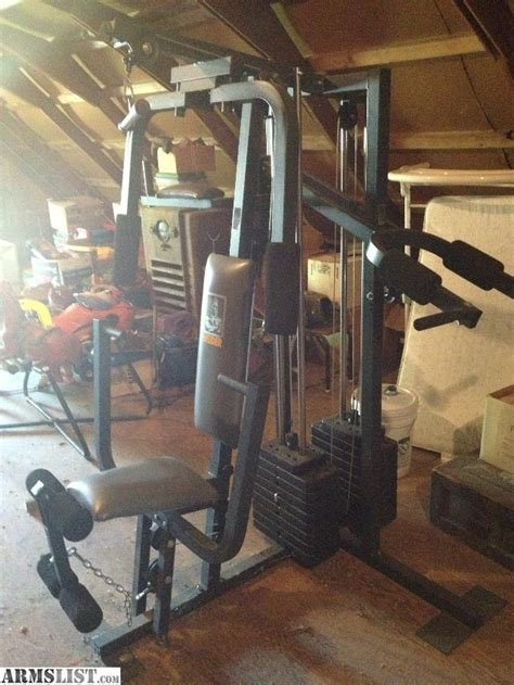 armslist for sale trade weider 20ct weight machine