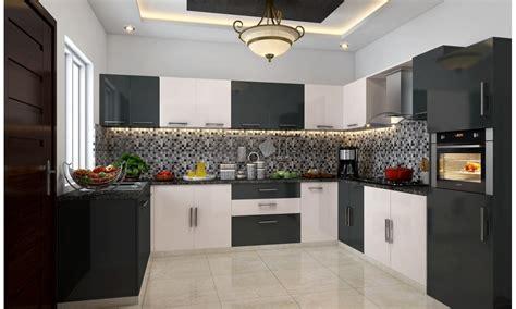 buy yin yang u shape modular kitchen online in india