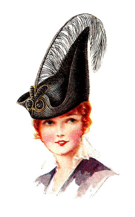 fashion illustration hats antique images free s vintage dress hat fashion