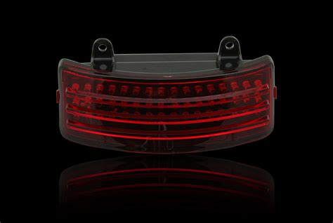 Custom Led Light Bars Custom Dynamics Black Tri Bar Led Rear Fender Light 14 17 Harley Touring Fltrx Ebay