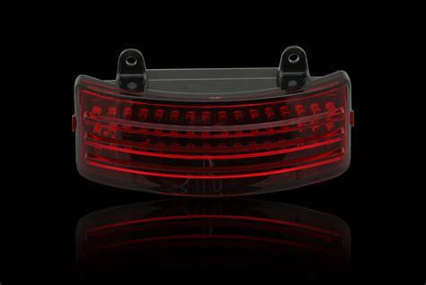 Custom Dynamics Black Tri Bar Led Rear Fender Light 14 17 Custom Led Light Bar