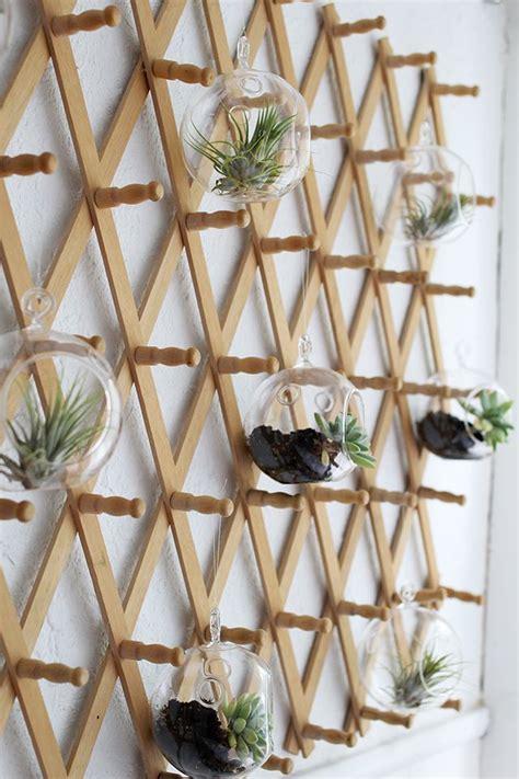 bed nook makeover vertical garden design hanging