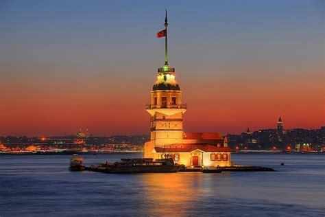 kz kulesi restaurant istanbul turkey yelpcom kiz kulesi at sun set in istanbul hdr creme