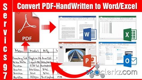 convert pdf to word or excel convert pdf to word or excel for 5 seoclerks