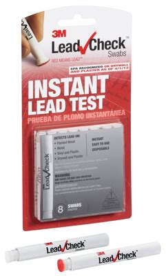 3m lead test swabs 8 pack lc 8s20c