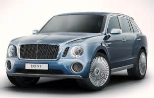 Bentley Vehicle A Bentley Suv It May Become Reality Top