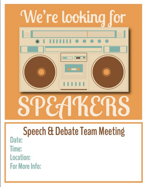english debate themes get free flyers for your speech and debate team meetings