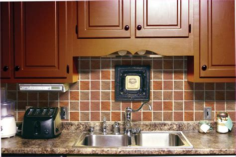 Self Adhesive Kitchen Backsplash Tiles Self Adhesive Backsplash Wall Tiles Home Design Ideas