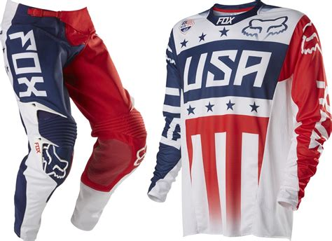 Fox 360 Motocross Kit Combo Latvia Mxon 2014 Patriot Gear