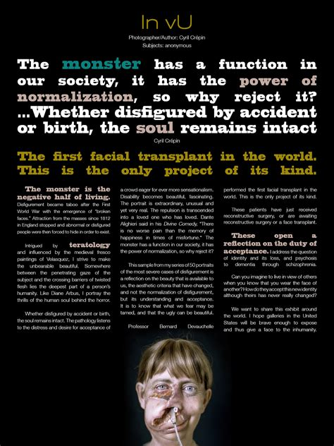 layout artist journalism in vu la hot magazine issue 2