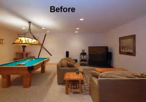 log home renovation mountain interior design design basement game room ideas pictures remodel and decor