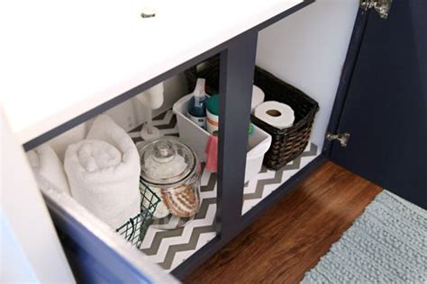 lining paper in bathroom 159bathroom makeover week the reveal shelf liner was the