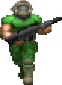 image doomguy color png death battle wiki