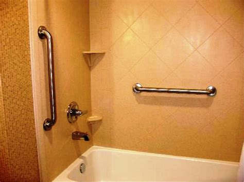bathtub grab bar installation handicap grab bars for fiberglass showers zoom the 25
