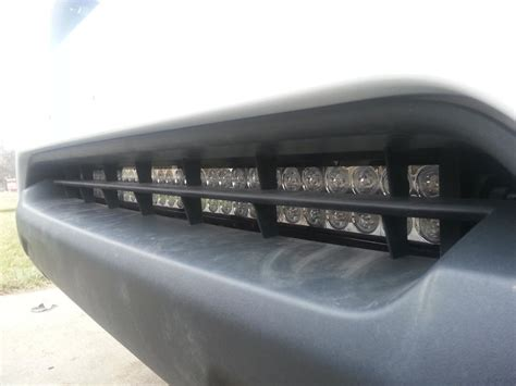 world of lighting ta 30 quot led light bar install in lower valance page 2