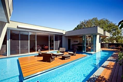 Home Design Dream House modern house in canterbury a wooden deck by the pool