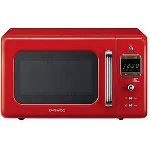 Daewoo Green Microwave Daewoo Retro 20l 800w Microwave Various Colours