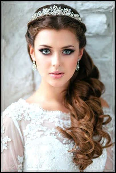 wedding hairstyles for round faces 26   Best Inspiration