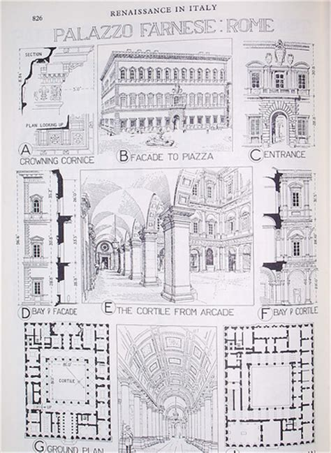 Draw House Plan palazzo farnese rome to my friend who was very impressed