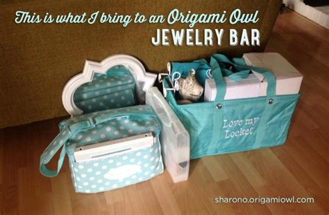 Origami Owl Bag - pinner says quot everything i need for an origami owl