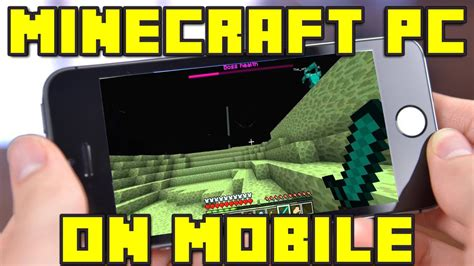 minecraft mobile free how to play minecraft pc edition on your mobile device