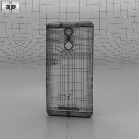 3d Xiaomi Redmi 3 xiaomi redmi note 3 silver 3d model hum3d