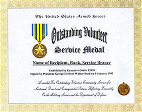 army achievement medal certificate form number