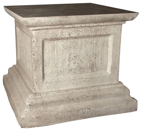 Pedestal Planters For Indoor by Crayson Pedestal Cathedral White Indoor