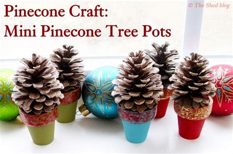 pine cone trees craftionary