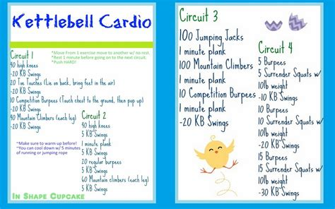 best kettlebell cardio workouts for burning and strength