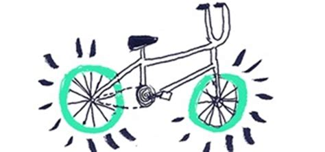 Decorate Your Bike by How To Draw A Bike For Cliparts Co
