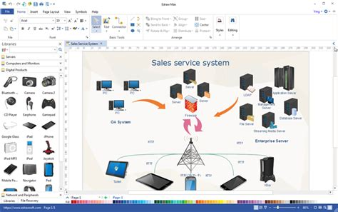 design network application all in one visualization software edraw max