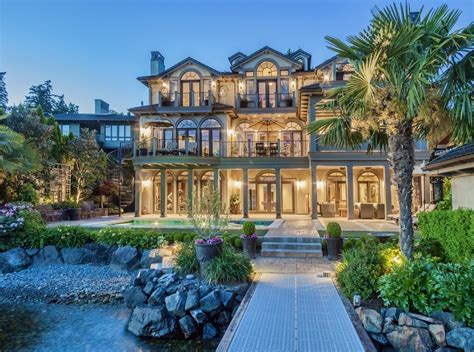 Luxury Mansions Floor Plans by 6 288 Million Waterfront Mansion In Kirkland Wa Homes