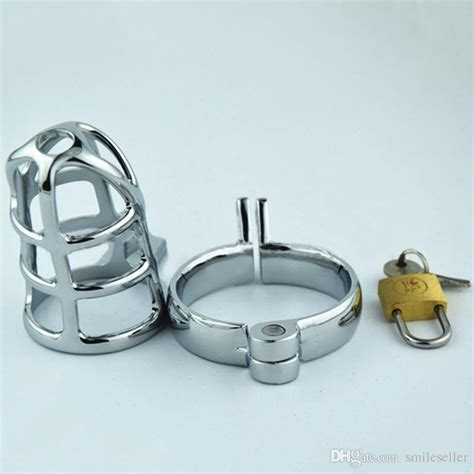 most comfortable chastity top sale stainless steel male chastity cages adult toys