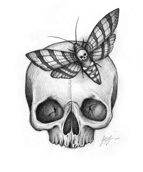 black skull tattoo designs 30 skull moth tattoos