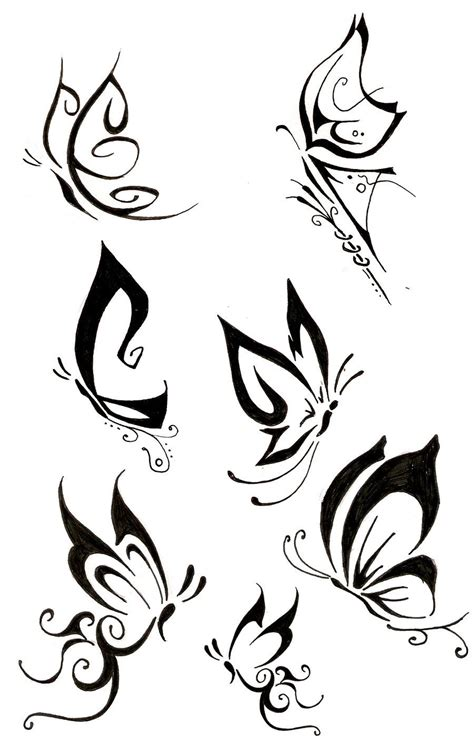 simple butterfly tattoo design butterfly by the fox hound deviantart on