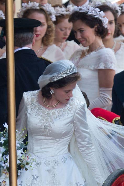 Elizabeths Wedding Dress Our One 5 by Royal Wedding Elizabeth Wedding Pictures The Crown