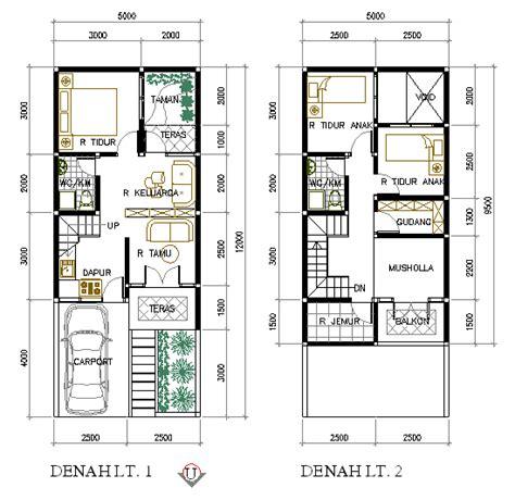 design interior rumah type 54 sketsa denah rumah 2 lantai type 21 36 45 54 70 minimalis