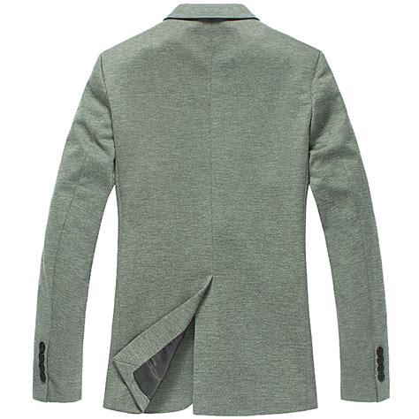 Fashion Style Korean Style Green Blazer pilaeo thin fabric korean green style slim blazer jacket