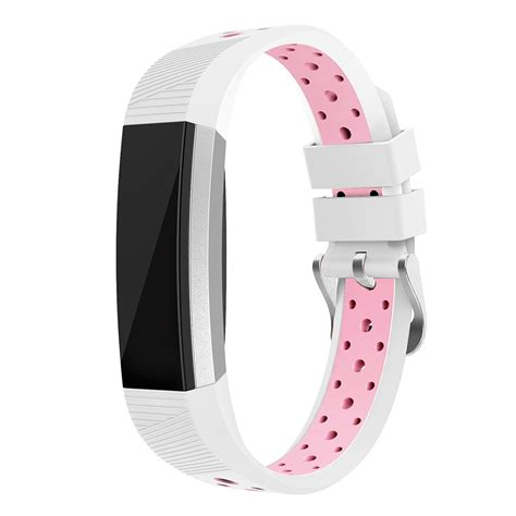 Printed Silicone Sport Band For Fitbit Alta 1 fitbit alta hr and alta bands silicone swees breathable sport replacement bands with buckle air